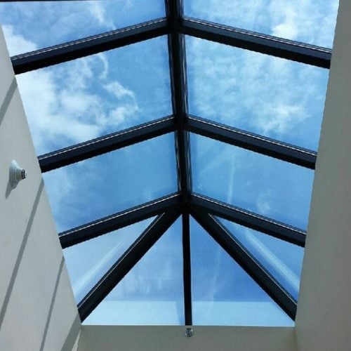 3M RE15SIX Exterior Sun Control Window Film Interior View